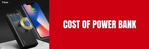 cost of power bank